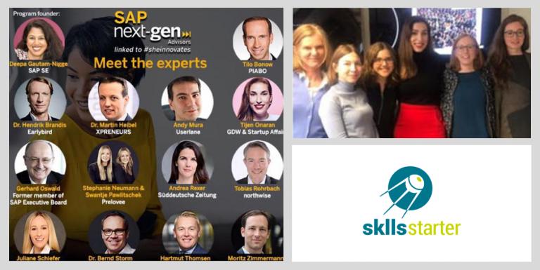 MentorInnen des SAP StartUp Mentorings für female founders München