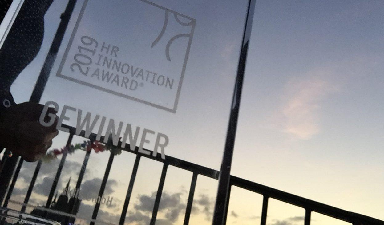 Sklls gewinnt HR Innovation Award 2019